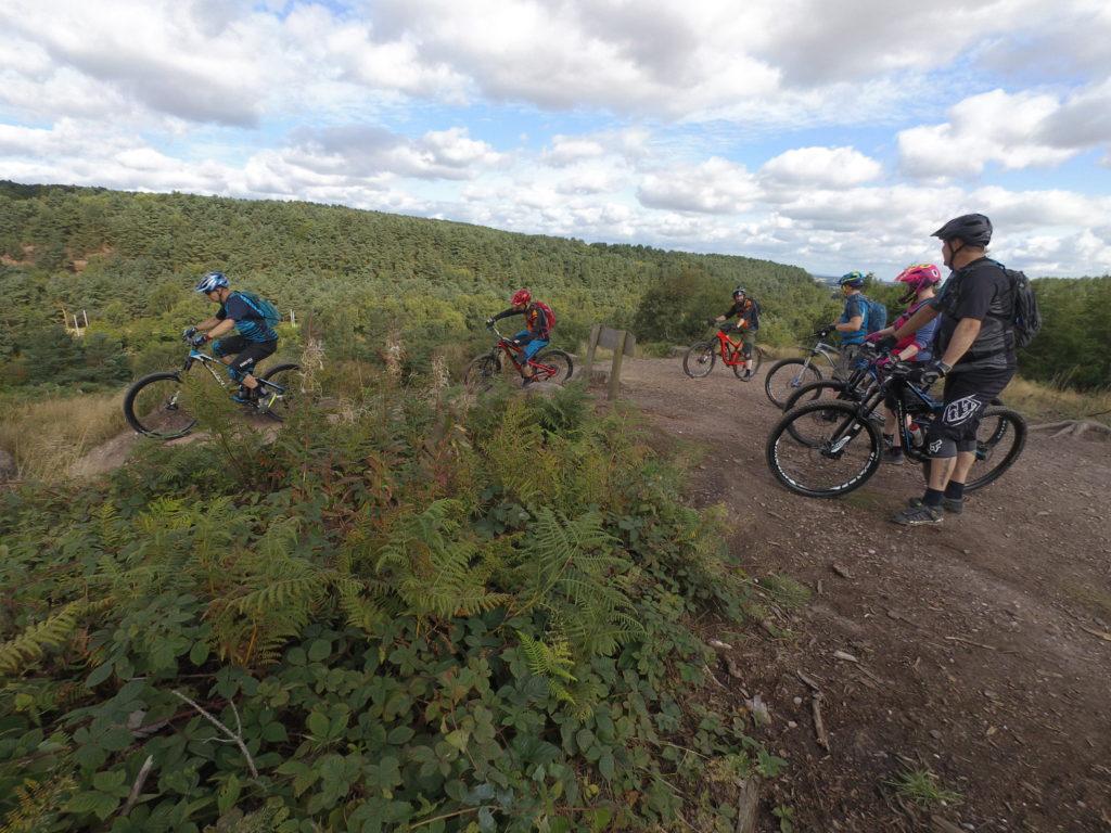 Wild Bikes Mountain Bikes do Cannock Chase Monkey Trail